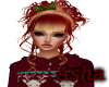 Red&Blonde Christmas Hai