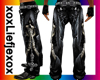 [L] Skelet Leather pants