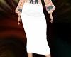 White Long Diva Skirt