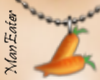 ! Carrot Necklace