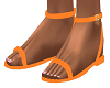 Orange Riyna Sandals