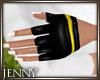 *J 80's Gloves Yellow