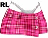 Skirt Plaid Pink