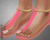 |C| Pink Roses Sandal