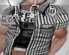 Plaid open shirt