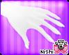 [Nish] White Paws Hands