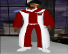 TEF RED AND WHITE ROBE