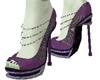 Metal Maleficent Heels