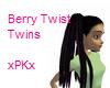 Berry Twist Twins