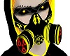 -x- orellow mask