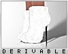 0 | Fur High Boots