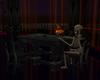 Halloween animated table