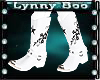 White Star Cowboy Boots