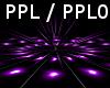 Purple DJ Light