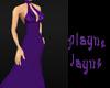 {PJ} Purple Halter