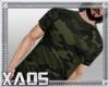 X/camouflage tshirt