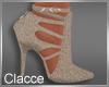 C beige heels