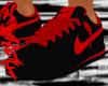 Cortez Black & Red