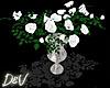 !D White Roses
