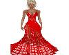 Fancy in Red Gown