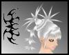 ASM silver white Bun