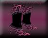 (SW)pink n blk leopard
