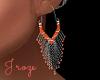 Pacific Coral Earrings