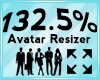 Avatar Scaler 132.5%