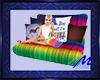 Horse Rainbow Nap Pillow