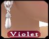 (V)  Pearl Earrings