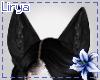Black Wolf Ears