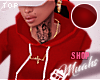 M! Drippin' Hoodie - Red