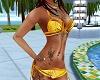 C72 Boho Bikini Yellow