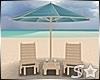 S* Beach Chairs/Umbrella
