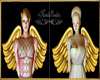 Wings Gold Unisex