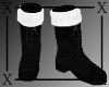 .X. Santa Baby Boots Blk