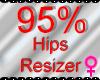 *M* Hips Resizer 95%