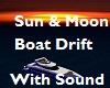 Sun Moon Boat Adrift