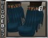 Native Turquoise Fringed