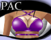 *PAC* Strapped Top Purp2