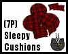 Sleepy Cushions (7P)