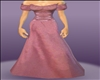 Rose Medieval Gown