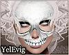 [Y] White skull mask