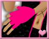 ~ Pink Fingerless Gloves