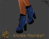 NuBuck Hiker Boot Blue