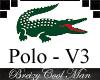Polo Lac'Ost V3 - Jaune