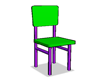 Cell Shaded Chair