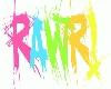 Rainbow RAWR!