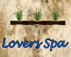 *S* Lovers Spa Wall Plan
