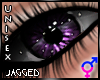 Deep purple unisex eyes